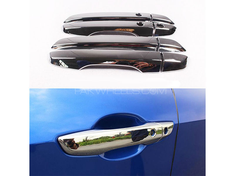 Door Handle Chrome Trim For Honda Civic 2018-2019 in Lahore
