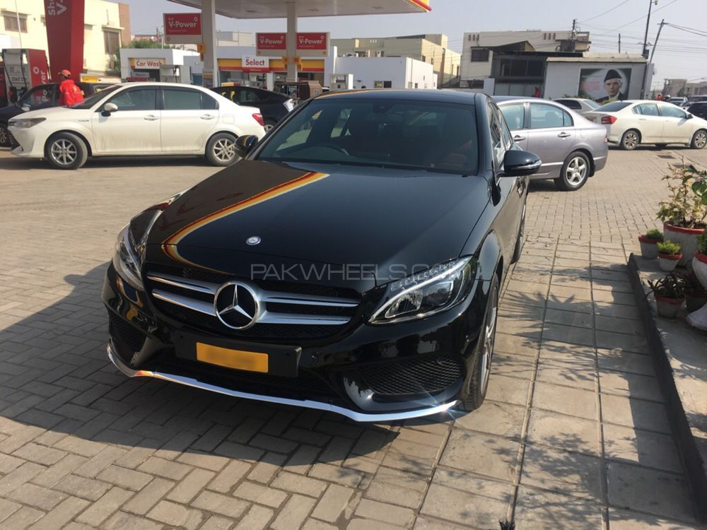 mercedes benz c class c180 amg 2017 for sale in karachi pakwheels. Black Bedroom Furniture Sets. Home Design Ideas