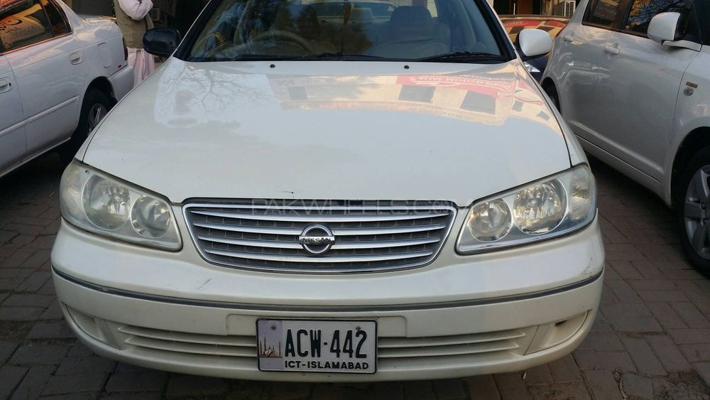 Nissan Sunny EX Saloon Automatic 1.3 2005 Image-1
