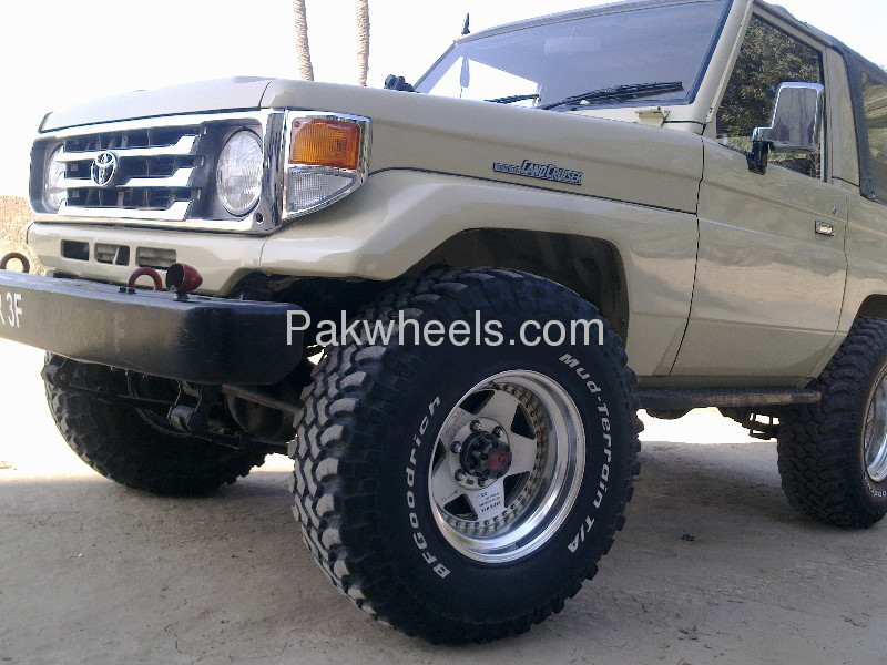 BF Goodrich Mud terrain tyres and Japenese Hollow Alloys Image-2