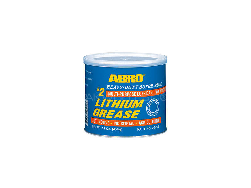 ABRO #2 Super Blue Lithium Grease - 454gm Image-1