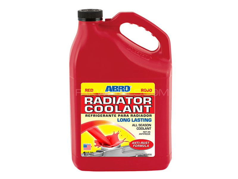 ABRO Engine Coolant Red - 1 Litre in Karachi