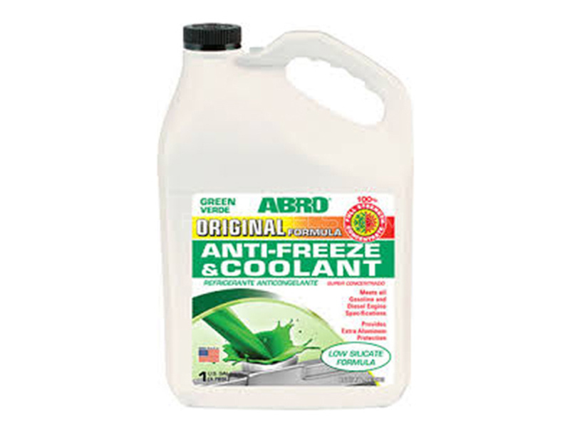 ABRO Engine Coolant With Anti-Freeze - 4 Litre Image-1
