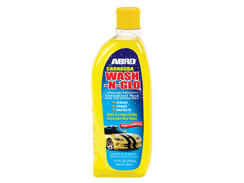 ABRO Carnauba Wash-n-Glo - 510 ml in Karachi