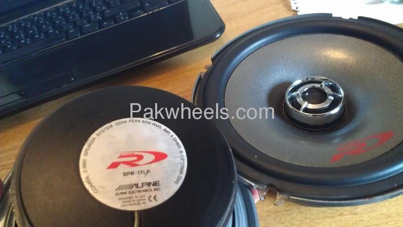 Alpine highend door speakers for sale Image-3