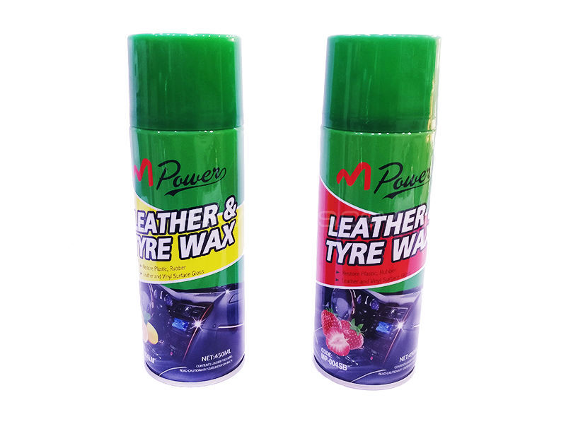 Mpower Leather & Tyre Wax Image-1