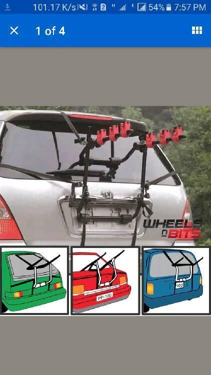 car reak mound foldable bicycle Image-1