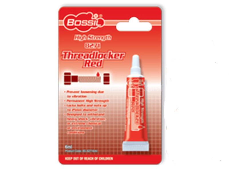 Bossil Thread Locker RED - High Strength - 6 ml Image-1