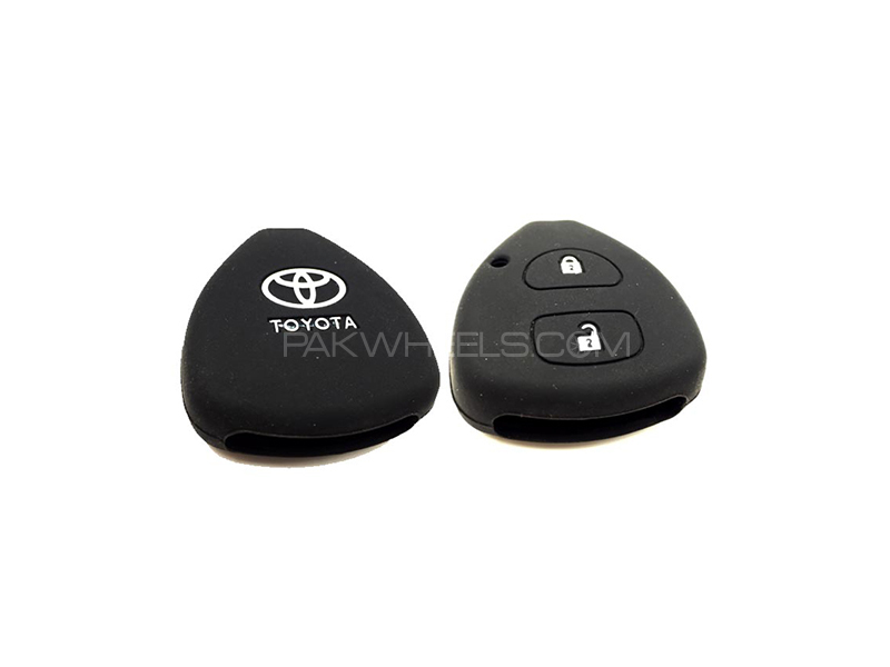 Toyota Vitz Silicone Car Key Cover  in Lahore
