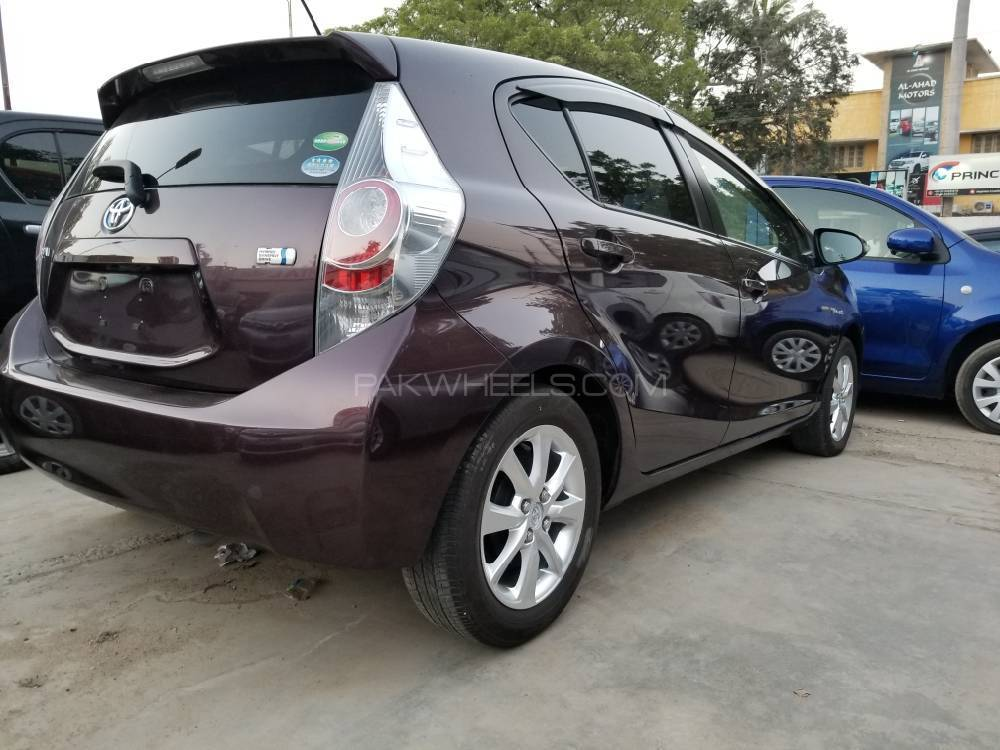 Used Toyota Aqua For Sale At Car Capital Karachi
