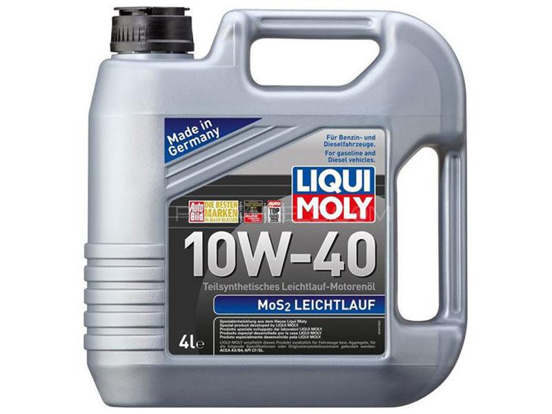 LIQUI MOLY Mos2 10w-40 API-SL - 4 Litre Image-1