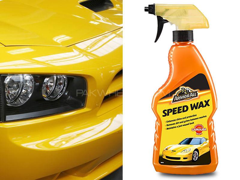 ArmorAll Speed Wax Spray - 500ml Image-1