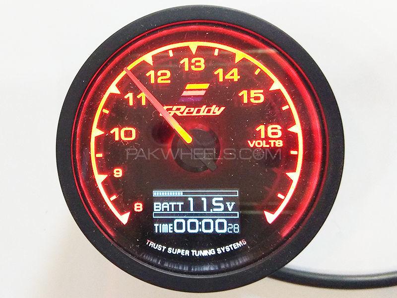 Greddy Gauges Battery & Time Image-1