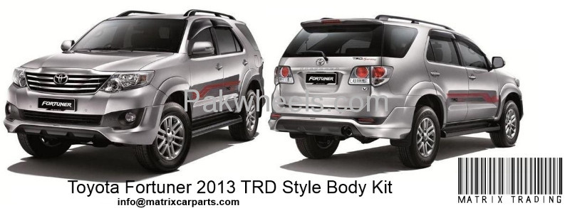 Buy TOYOTA FORTUNER 2013 TRD STYLE BODY KIT in Islamabad | PakWheels