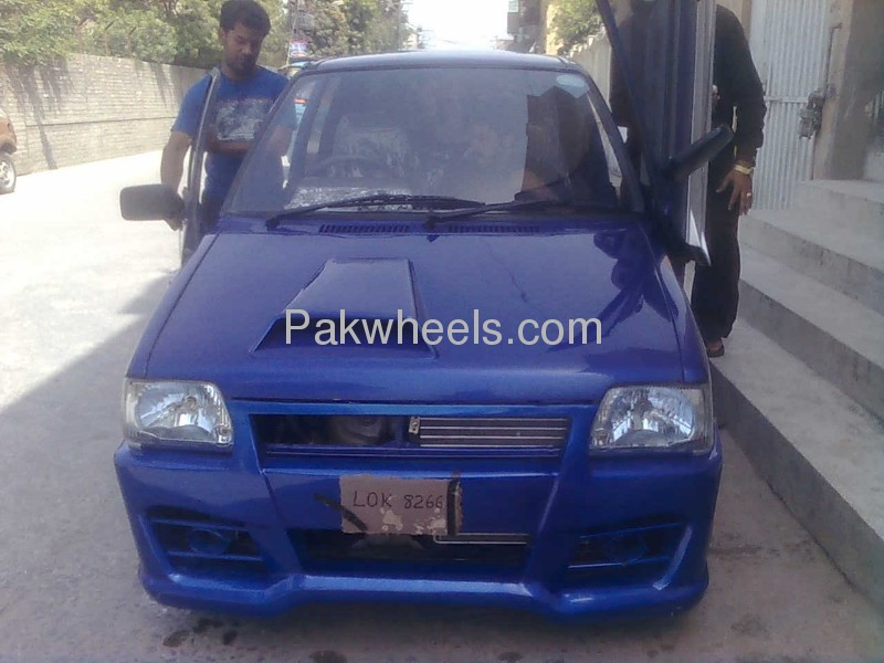 Suzuki mehran alto full modification lamboo door kit for for Alto car decoration