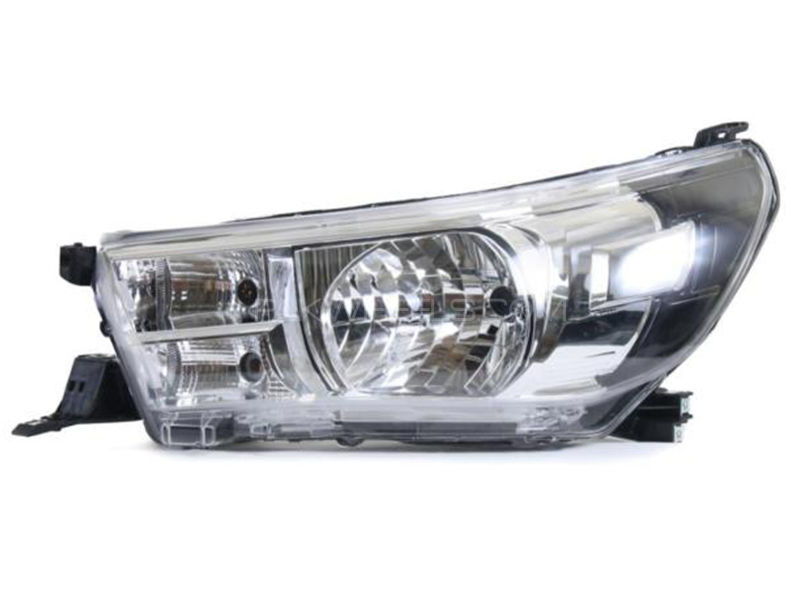 Toyota Hilux TYC Head Lamp 2016 - 1 Pc LH Image-1
