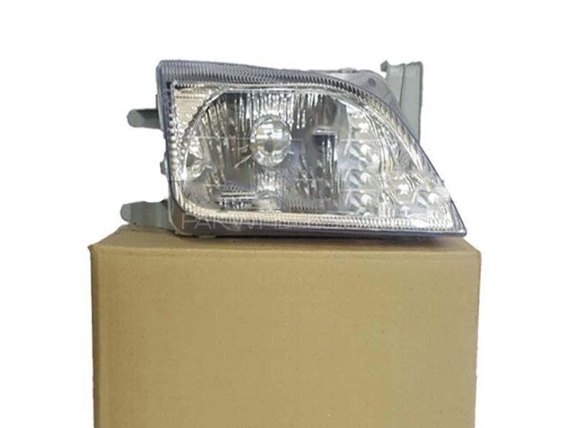 Suzuki Cultus White Head Light Set Image-1