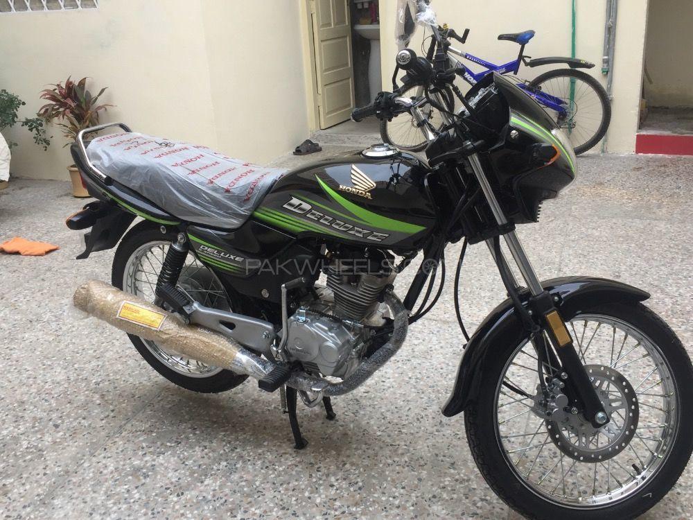 Honda CG 125 Deluxe 2018 Image-1