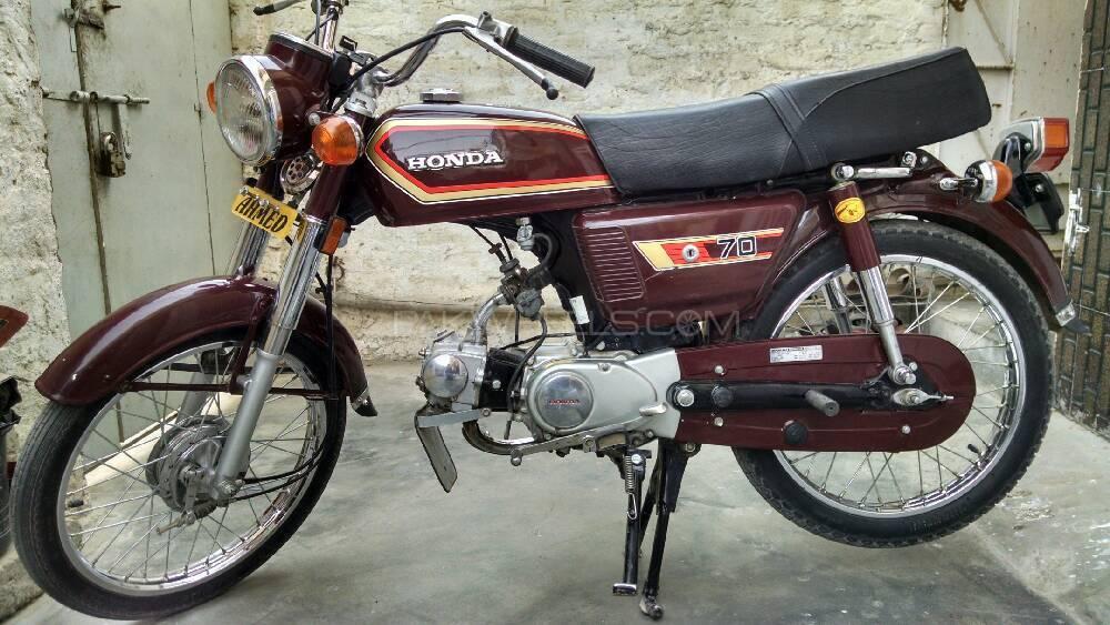Honda CD 70 1982 Image-1