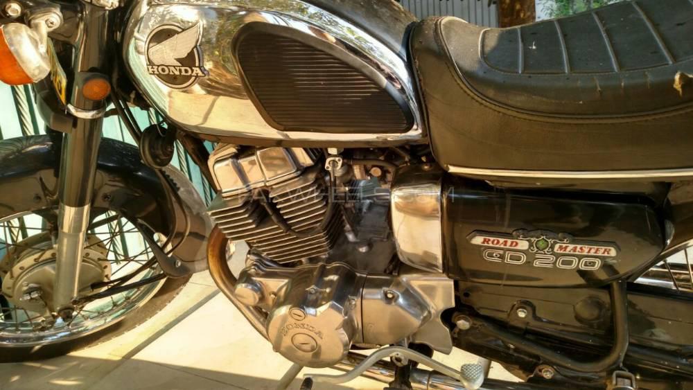 Honda CB 250F 1988 Image-1