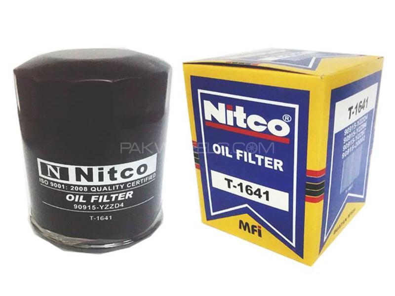 Nitco Oil Filter - Toyota Land Cruiser - T1641
