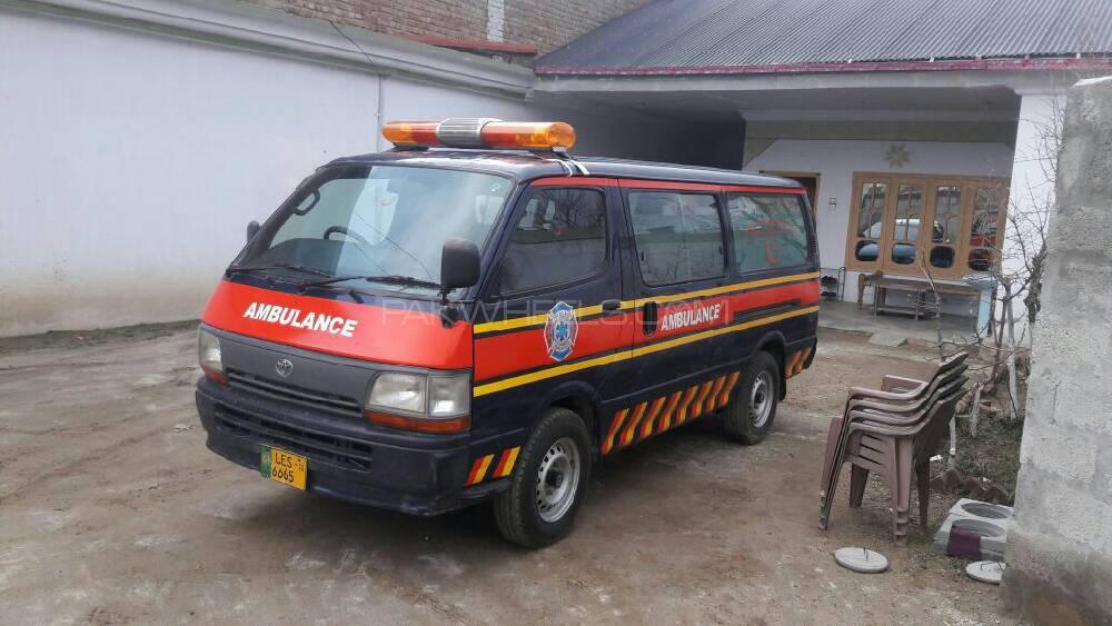 Toyota Hiace Standard Ambulance 3.0  1997 Image-1