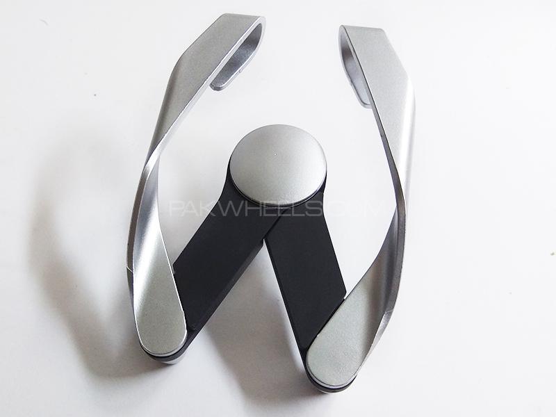 A/C Fins Mobile Holder - Silver Image-1