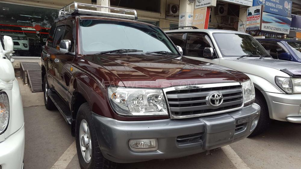 Toyota Land Cruiser VX Limited 4.2D 2001 Image-1