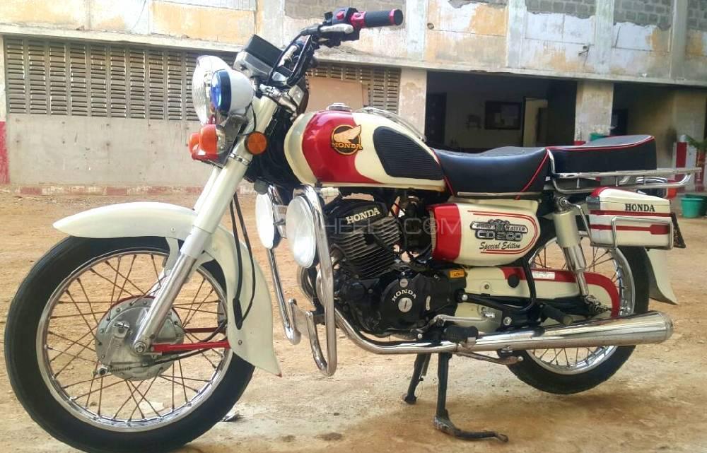 Honda CD 200  1984 Image-1