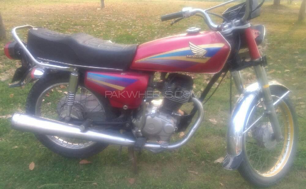 Honda CG 125 2001 Image-1