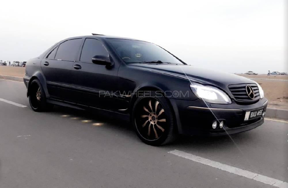 mercedes benz s class s500l lim 2003 for sale in karachi. Black Bedroom Furniture Sets. Home Design Ideas