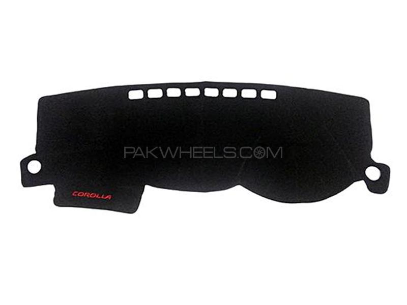 Dashboard Cover Carpet For Toyota Corolla - 2002 Image-1