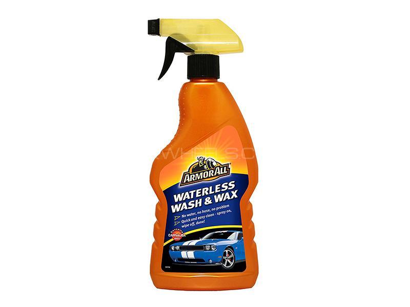 ArmorAll Waterless Wash & Wax Spray - 500ml Image-1