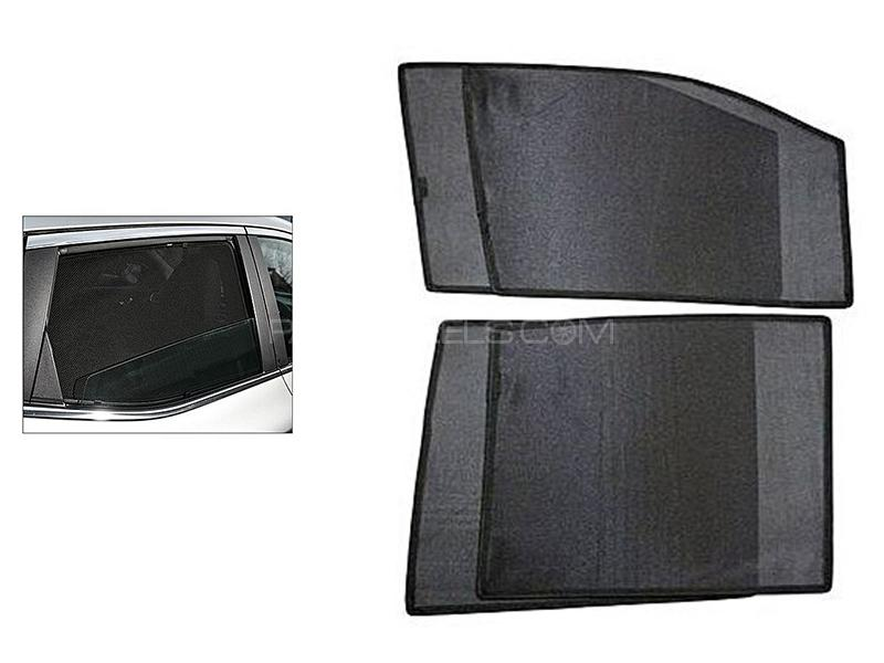 Car Sun Shades Set for Honda Civic 1998 Image-1