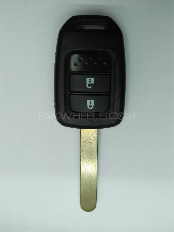 Honda BRV Remote Key Shell with Blade Cutting Image-1