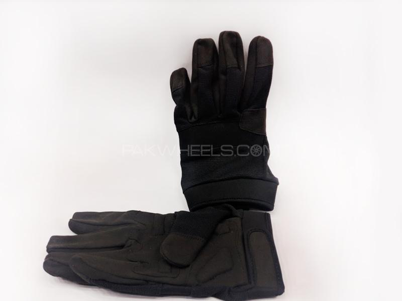 Probiker Fabric Gloves Black in Lahore