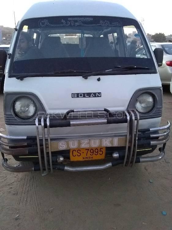 Suzuki Bolan VX (CNG) 2009 Image-1
