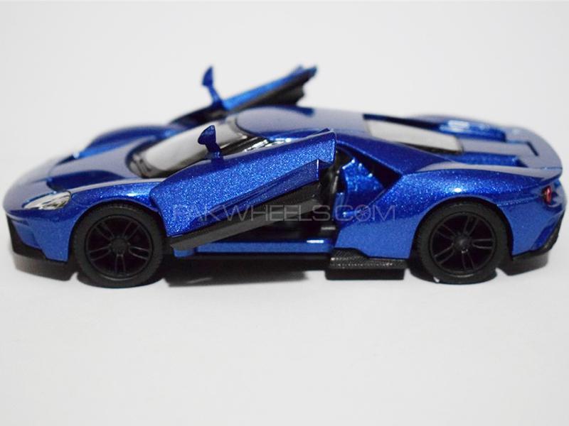 KinSmart Metal Body Die Cast FORD GT 2K17 - Blue Image-1
