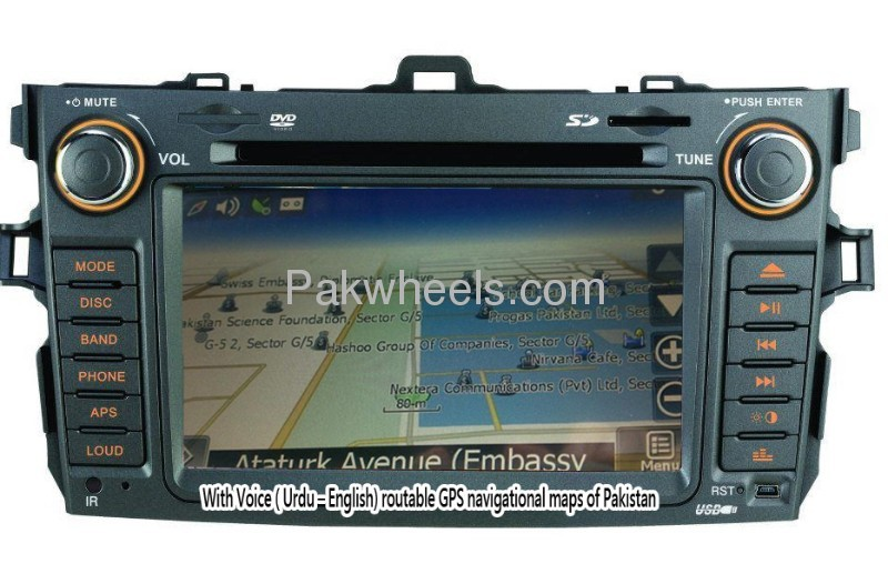 in dash gps car multimedia and navigation system for sale in lahore parts pakwheels. Black Bedroom Furniture Sets. Home Design Ideas