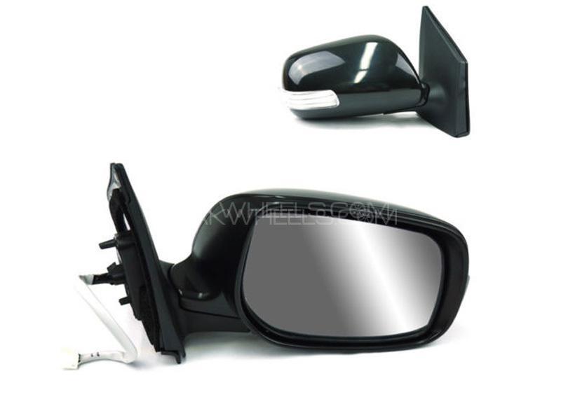 Toyota Vitz 2012 Side Mirror With Light LH Image-1