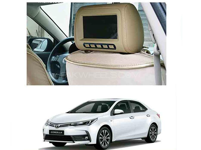 Car Headrest Monitor - Corolla 2014-2018 in Karachi