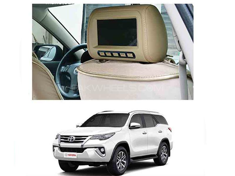 Car Headrest Monitor - Fortuner 2016-2018 in Karachi