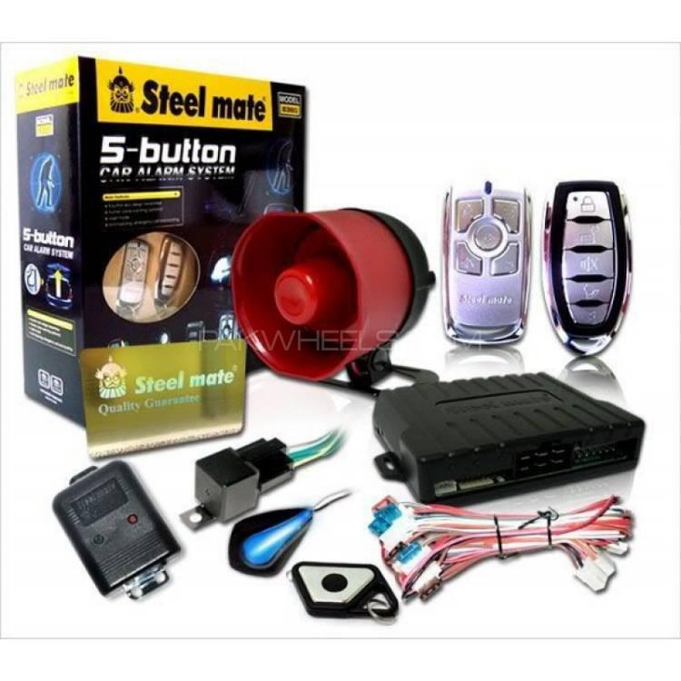 5 BUTTON ALARM SYSTEM Image-1