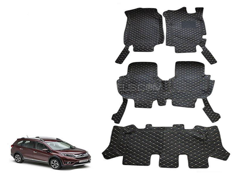 Honda BR-V 2017-2018 Luxury 7D Mat - Black in Karachi