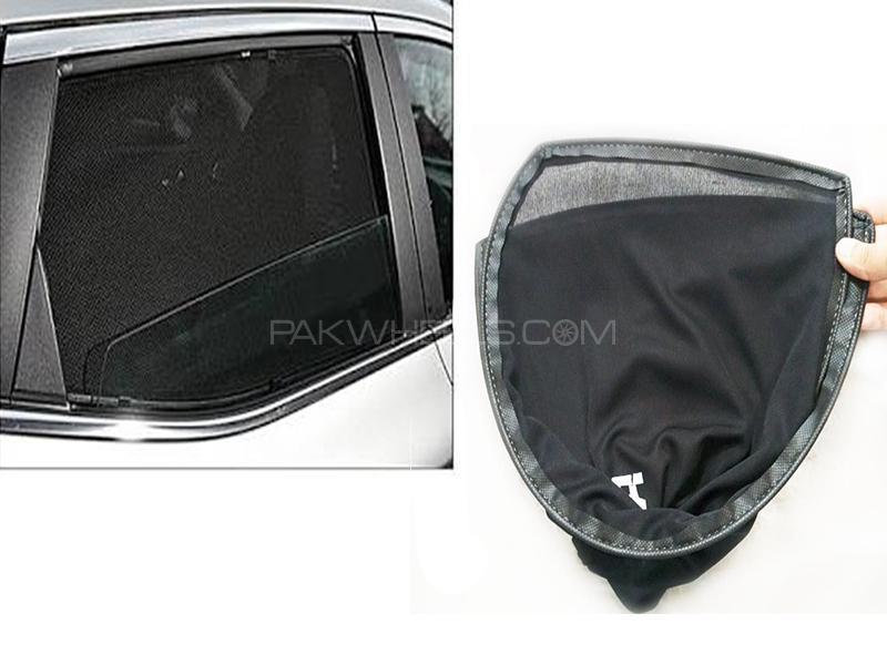 Foldable & Flexible Sun Shades For Toyota Vitz 2008 Image-1