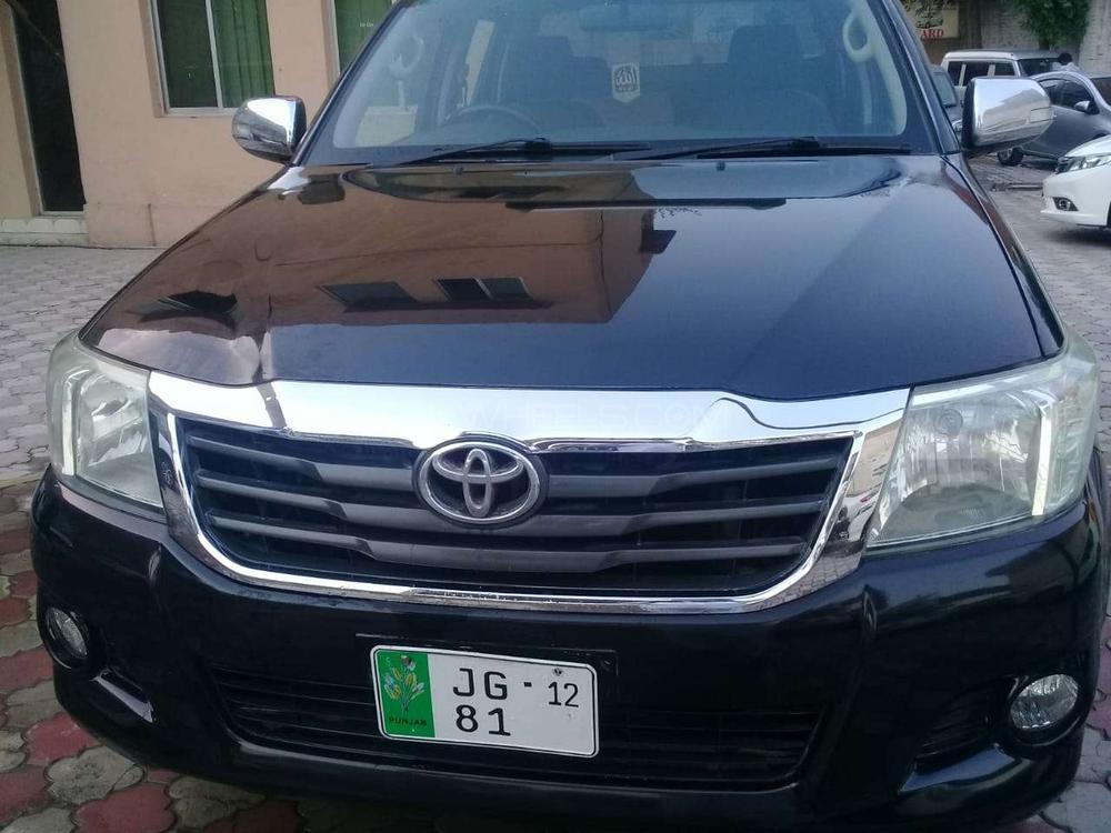 Toyota Hilux Vigo Champ G 2012 Image-1