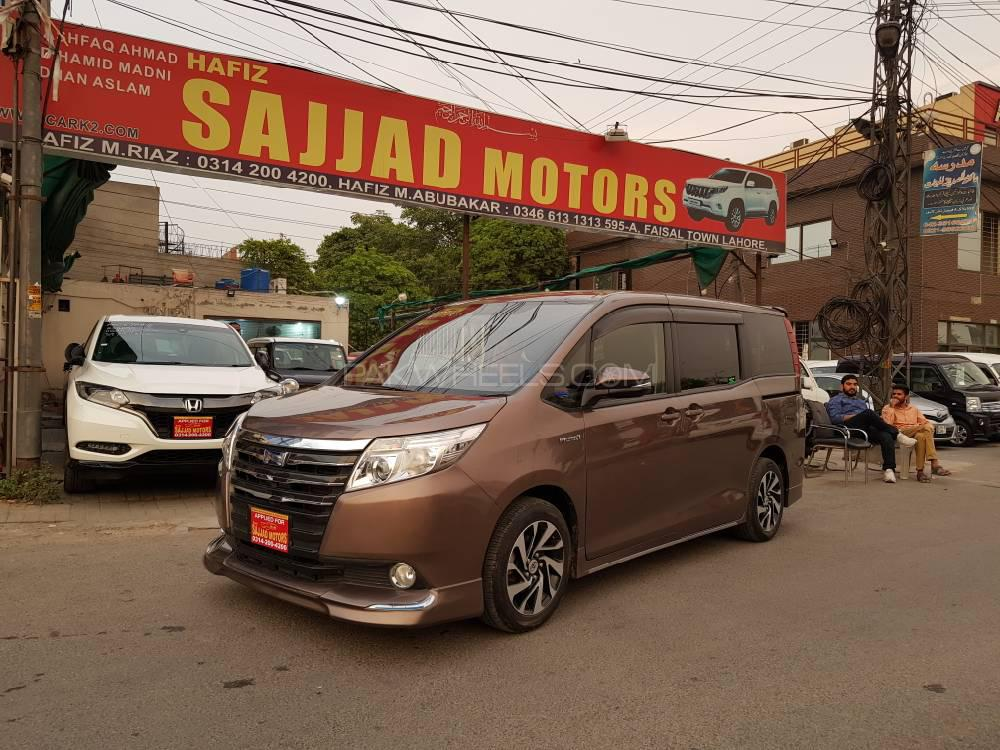 Toyota Noah S G EDITION 2014 Image-1