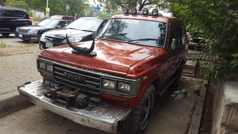 Toyota Land Cruiser VX 4.2D 1987 Image-1