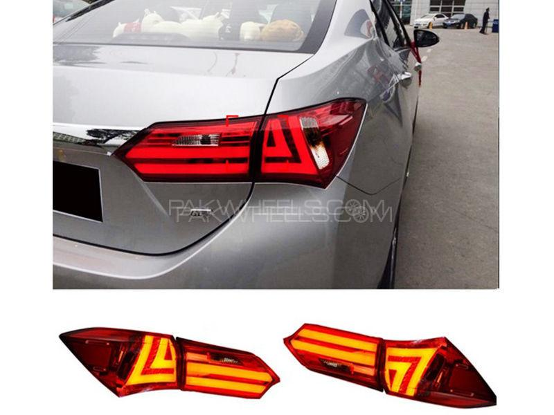 Audi Style Back Light For Toyota Corolla 2014-2018   in Karachi