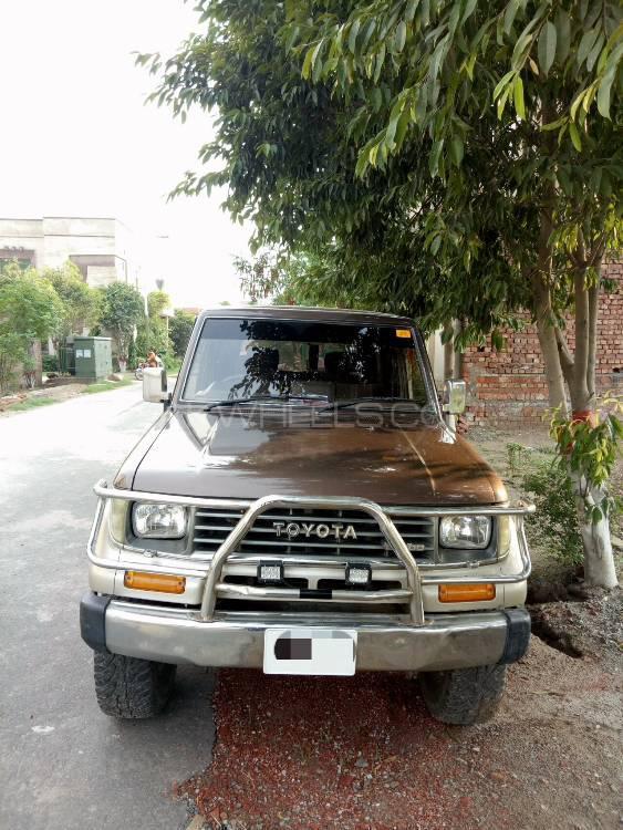 Toyota Prado Turbo 2.7 A/T 1992 Image-1